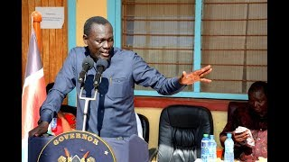 Council of Governors Chairman Josphat Nanok sworn in for a second term as Turkana Governor