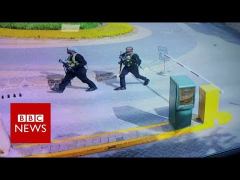 Nairobi hotel attackers captured on CCTV - BBC News