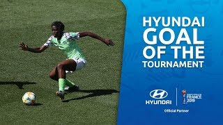 Asisat OSHOALA – HYUNDAI GOAL OF THE TOURNAMENT – NOMINEE