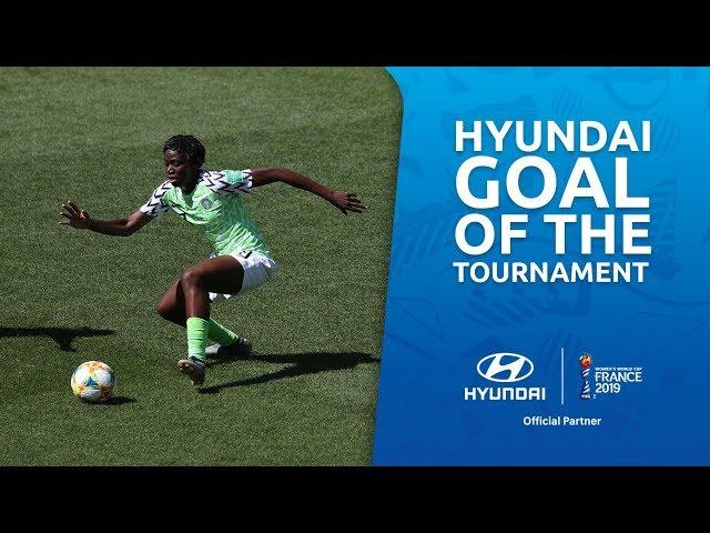 Asisat OSHOALA – HYUNDAI GOAL OF THE TOURNAMENT – NOMINEE