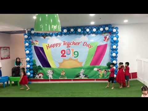Blue Sky Kindergarten Orchard Teacher's Day 2019 Class K1