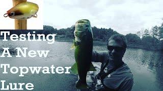 Topwater Bass Fishing in the Weeds/ Schwarzbarsch Angeln auf Topwater im Kraut/ Pesca de Black Bass