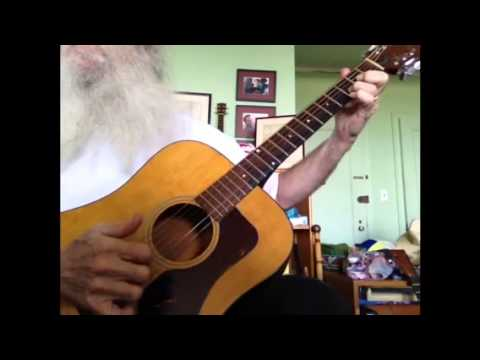Guitar Lesson, How to play various songs in the key of D