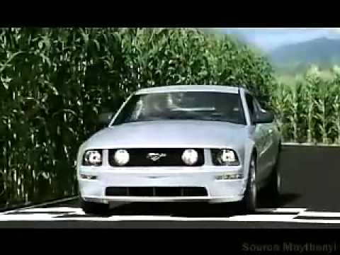 2006 Ford Mustang Commercial w Steve McQueen