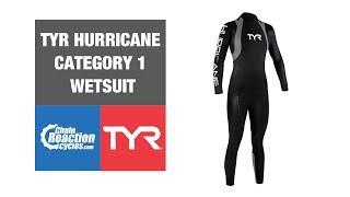 TYR Hurricane wetsuit C1