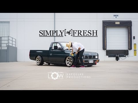 Slammed Nissan HardBody | SimplyFresh x LowExposure