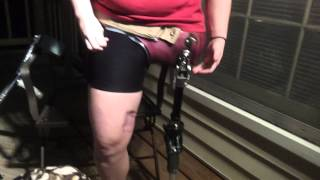 Repeat youtube video Crystal's prosthesis for hip disarticulation