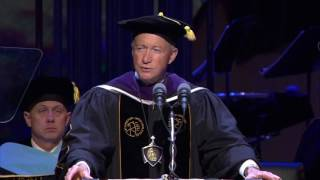 Purdue president to graduates: 'Stay humble' (Spring 2017) thumbnail