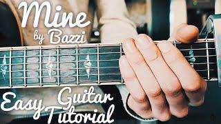Mine Bazzi Guitar Lesson for Beginners // Mine Guitar Tutorial // Lesson #405