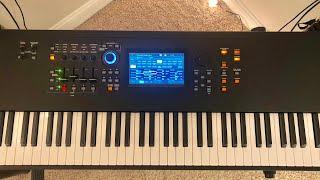YAMAHA MODX8 favorite sounds (Arpeggios, pianos, electric pianos and bass categories)