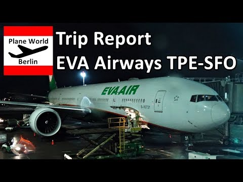 Trip Report | EVA Air Boeing 777-300ER | Economy | Taipei - San Francisco