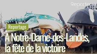 À Notre-Dame-des-Landes, la fête de la victoire