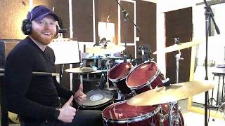 """How To Play """"Redbone"""" By Childish Gambino On Drums - Note For Note Drum Cover"""
