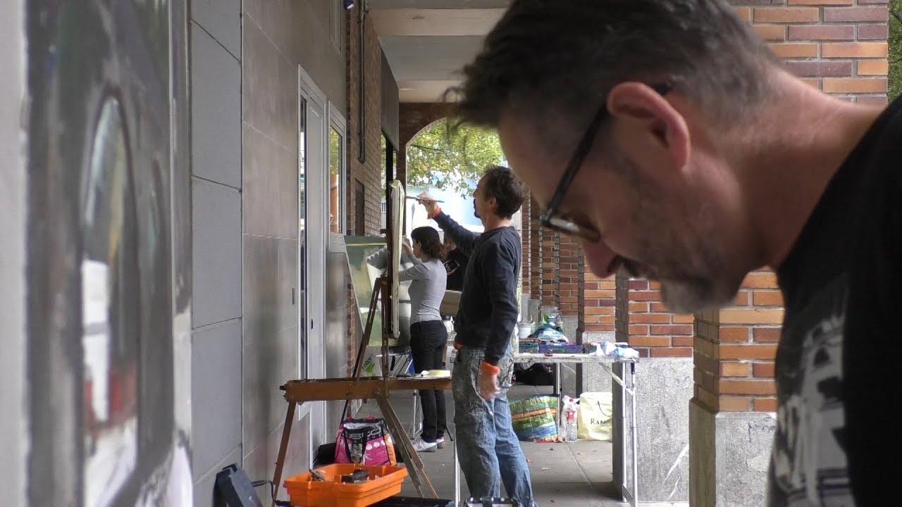 Jose Miguel Aranzek irabazi du Beasaingo 17. Aire Libreko Pintura Lehiaketa