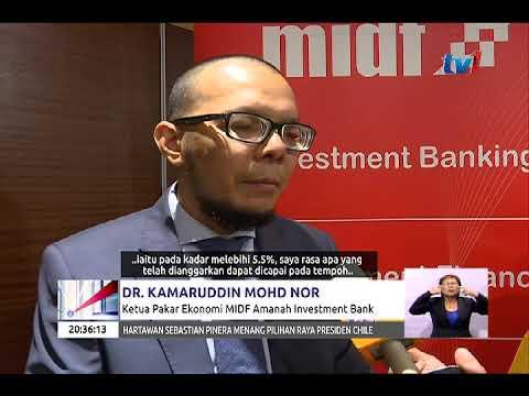 EKONOMI  MALAYSIA 2018 – MIDF JANGKA KDNK BERKEMBANG PADA 5.5% [18 DIS 2017]