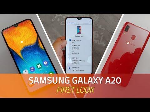 Samsung Galaxy A20 Review Videos