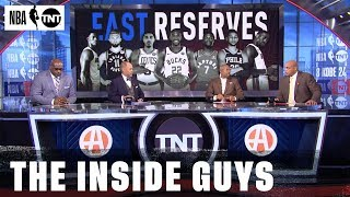 The 2020 East All-Star Reserves Are Revealed | NBA on TNT