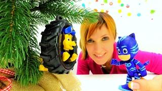 ГЕРОИ в МАСКАХ и Щенячий ПАТРУЛЬ в Сборнике #ДетскийСад Капуки Кануки Развивающие игры Видео игрушки