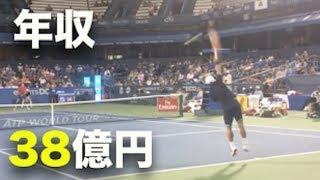 【テニス】錦織圭くらいのテニスができれば年収も億越え!簡単、か、か...