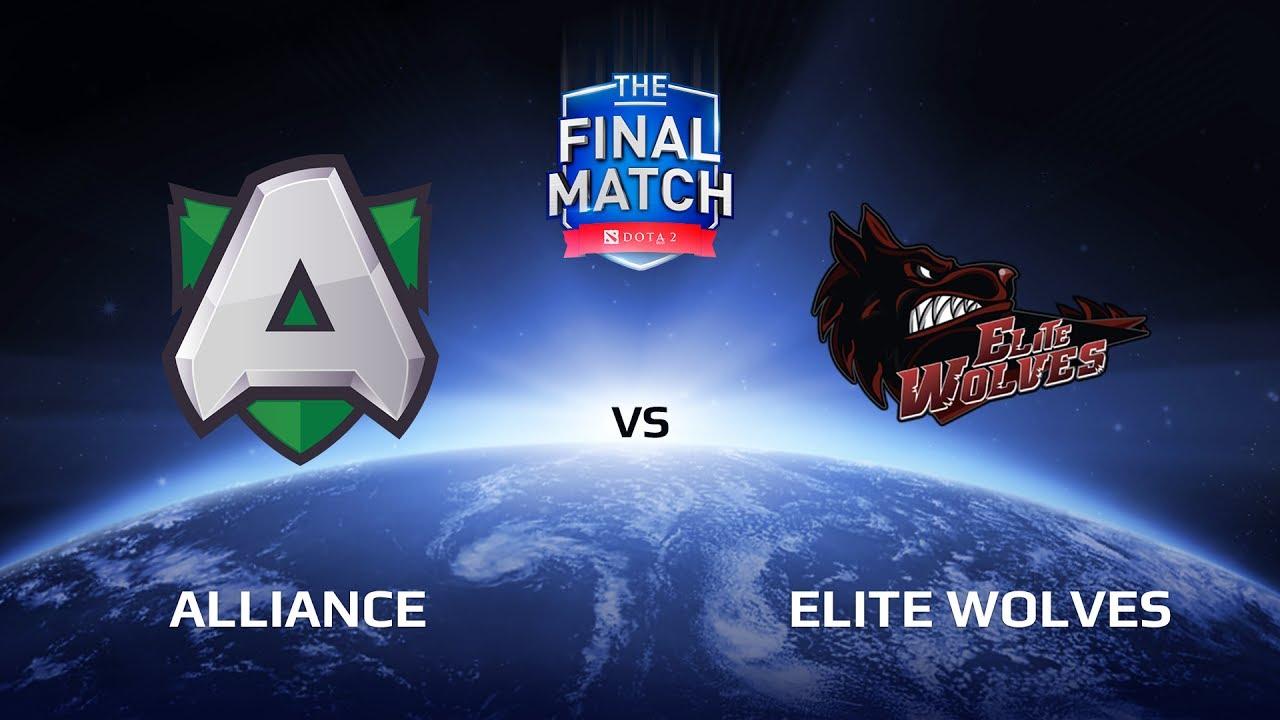 Alliance vs Elite Wolves, The Final Match LAN-Final, Group B