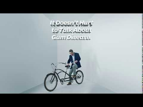 The Gum Disease Spokesman Takes On: A Tandem Bike | By Perio Protect