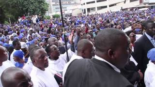 Zimbabwe Anglicans return to their Cathedral