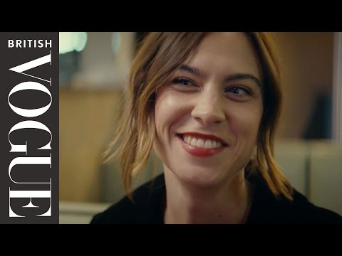Alexa on Alexa: Dating Alexa Chung  X on X  British Vogue
