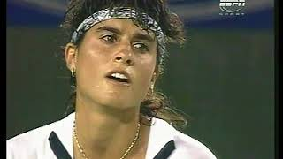 1993 Australian Open Quarterfinal - Gabriela Sabatini vs Mary Pierce ENG