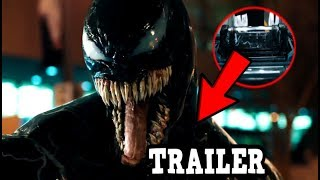VENOM Trailer Breakdown - Details You Missed & Alternate How Symbiote Get To Earth Theory!