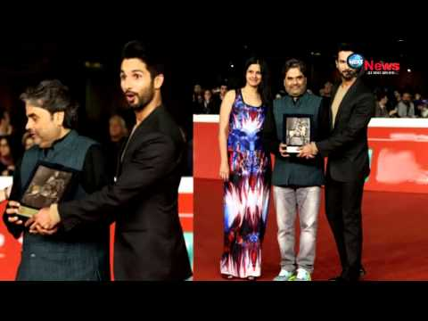 Shahid Kapoor Starrer Movie 'Haider' Wins Award in 9th Rome Film Festival