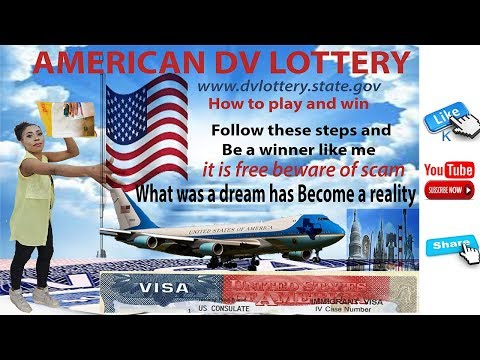 American DV Lottery Decoded , How To Play Right And Maximize Your Winning Right Away