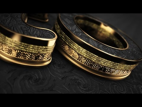 After Effects Template: Black Gold Logo V5