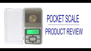 Pocket Scale - Product Review