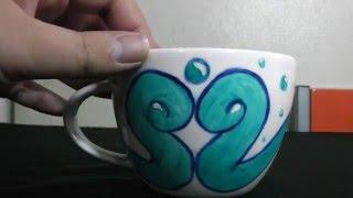 taza de agua