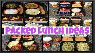 Packed lunch ideas for school or work