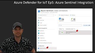 Azure Defender For  OT Ep5 Azure Sentinel  Ntegration