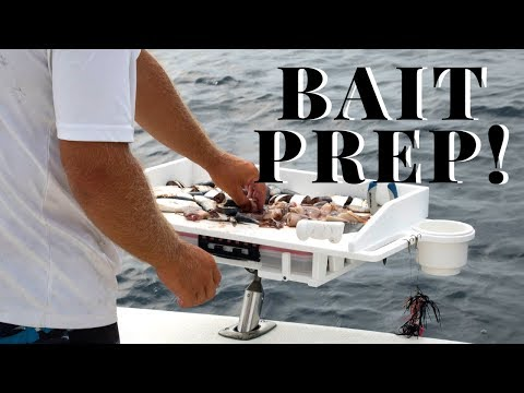 On Board Bait Prep | Fillet Tables, Cutting Boards, And More
