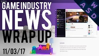 Twitch App Takes On Discord | Game Industry News Wrap Up | March 11th 2017