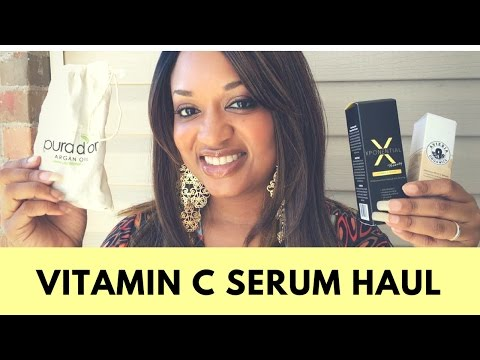Vitamin C Serum Haul/Comparison + Giveaway!