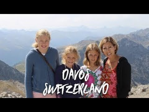 A tour of Davos Switzerland and the view from the top of the Swiss alps!