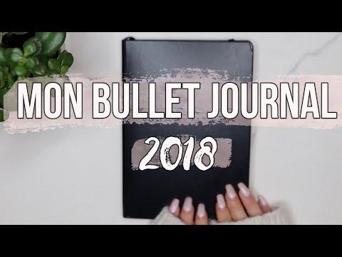 MON BULLET JOURNAL 2018: ORGANISATION ETC !