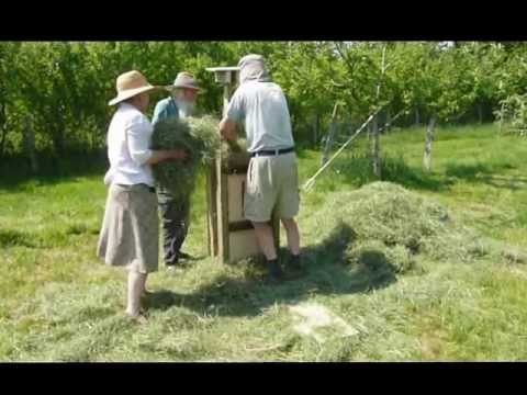 how to make hay by hand