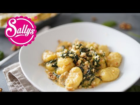 Gnocchi mit Gorgonzola-Spinatsoße / 15 Minuten Rezept