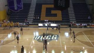 uncg volleyball vs youngstown state