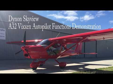 A32 Vixxen - Autopilot Functions Demonstration