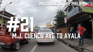カリパイの「バイクでGO!」#21【CEBU】M.J. Cuenco Ave to Ayala [MotoVLOG in the Philippines]フィリピンセブ thumbnail