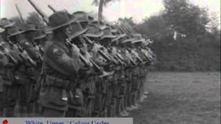 Real WWI Footage Australian 2nd Division Soldiers Arms Drill