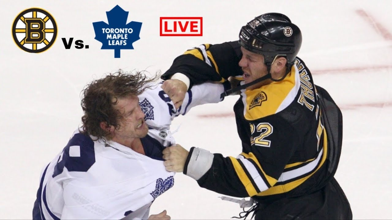 Image result for Bruins vs Maple Leafs Live