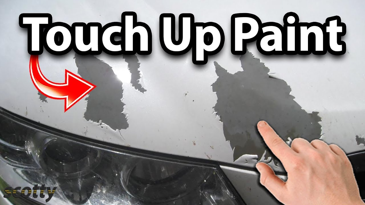 how to touch up paint on your car youtube