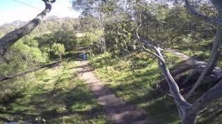 Tree Top Adventure Park - Beginner course - June 2015